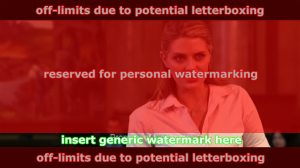 Preferred location for a generic watermark
