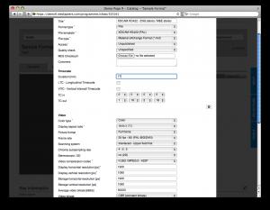 Entering metadata